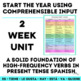 Back to School: High Frequency Verbs Unit - Novice Spanish