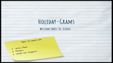 Back-to-School Holiday-Grams