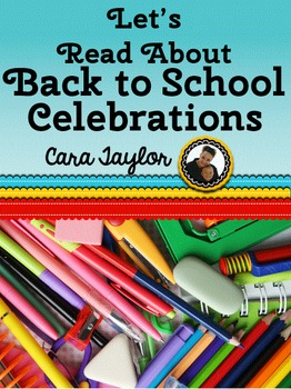 Back to School Holidays and Celebrations Emergent Readers