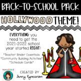 Back-to-School Hollywood Pack! Teacher Binder, Activities,