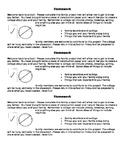 Back to School Homework Collage
