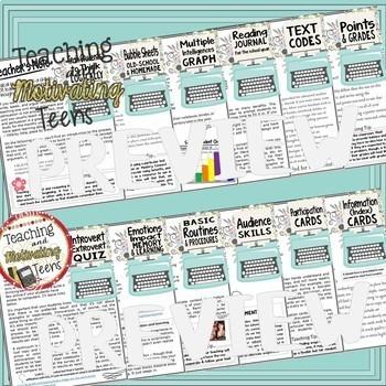 Back to School Mega Bundle for Middle & High English Language Arts