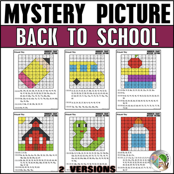 Back to School Hundreds Chart Mystery Picture