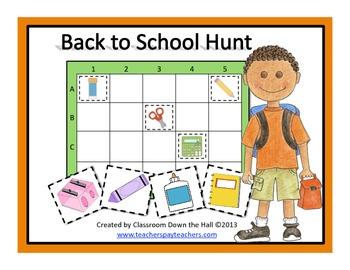 Back to School Hunt