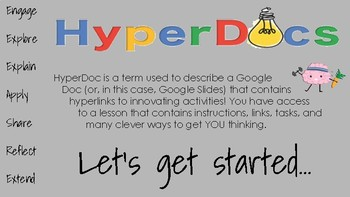 Back to School HyperDoc/Slides- Editable