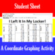 Back to School - I Left It In My Locker - A Coordinate Graphing Activity