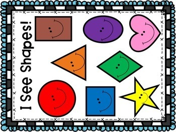 Back to School: I See Shapes! Teacher Book and Student Book