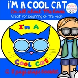 Back to School I'm a Cool Cat/All about Me book
