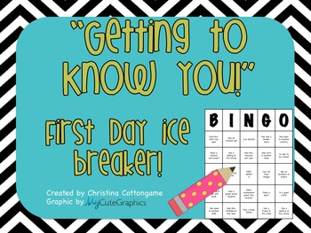 Back to School Ice Breaker Activity