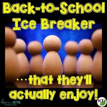 Back to School Ice Breaker Activity