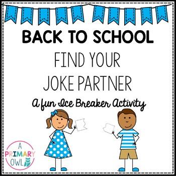 Back to School: Ice Breaker Activity   Find Your Joke Partner