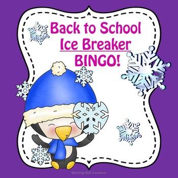 Back to School Ice Breaker BINGO!
