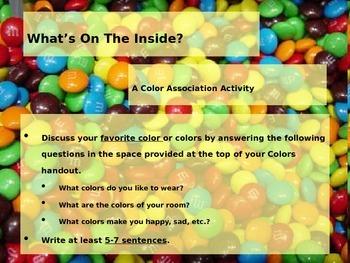 Back to School Ice Breaker: Colors