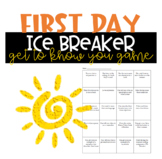 Back-to-School Ice Breaker Game for English Class (The Aut