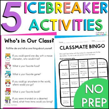 Back to School Ice Breaker Games