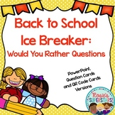 Back to School Ice Breaker: Get to Know Your Students