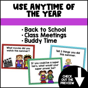Back to School: Ice-Breaker PowerPoint