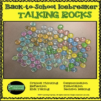 Back-to-School Ice Breaker - Talking Rocks