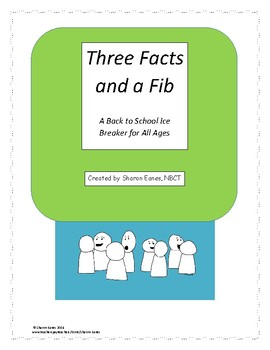 Back to School Ice Breaker: Three Facts and a Fib