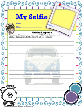 First Day of SchoolIce Breaker for Creative Writing Classes {First Day Activity}