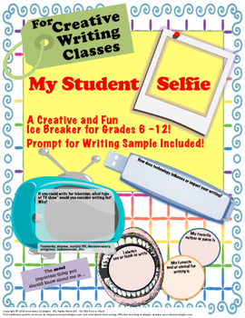 First Day of SchoolIce Breaker for Creative Writing Classe