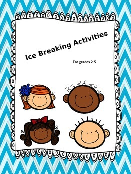 Back to School games Ice Breakers