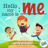 Hello My Name Is:____ Ice Breaker Activities  (Interactive