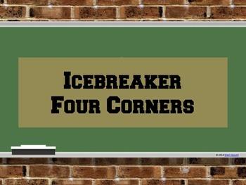 Back to School IceBreaker - Four Corners