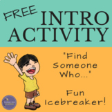 Free Icebreaker Activity, Find Someone Who