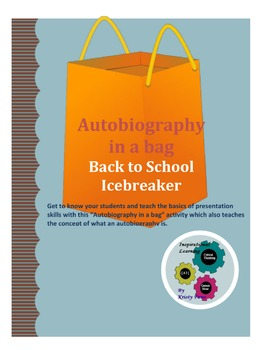 Back to School Icebreaker:  Autobiography in a bag