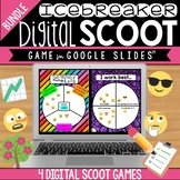 Back to School Icebreaker Digital Scoot Bundle for Google Slides