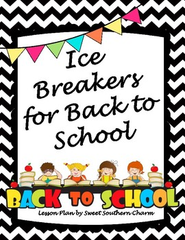 Back to School Icebreaker Games from Sweet Southern Charm