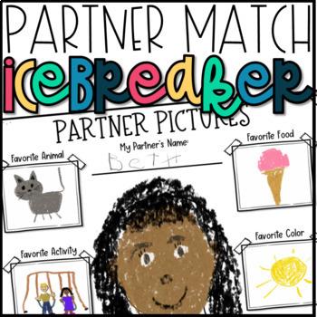 Back to School Icebreakers-Partner Match Activity