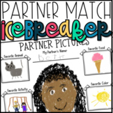 Back to School Activities-All About Me Partner Icebreaker