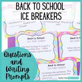 First Day of School Activities - Back to School Ice Breaker