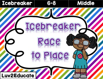 Back to School Icebreaker Race to Place
