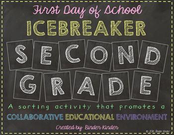 Back to School Icebreaker-Second Grade