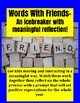 Back to School Icebreaker Words with Friends