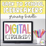Back to School Icebreakers (Distance Learning)