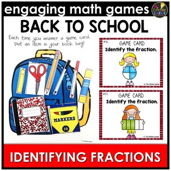Back to School Identifying Fractions