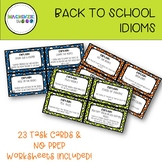 Back to School Idioms