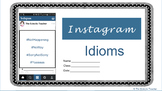 Catchy Idioms with Instagram {Upper Elementary and Middle