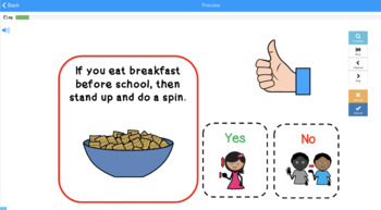 Back to School If Then Movement Following Conditional Directions Speech (28)