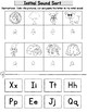 Back to School Initial Sound Freebie:  Cut and Paste Alphabet Worksheets