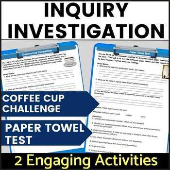 Back to School Inquiry Investigation using the Scientific Method