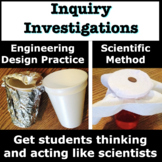 Back to School Inquiry Investigation using the Scientific Method