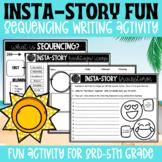 Back to School Activity: Insta-Story Summer Fun