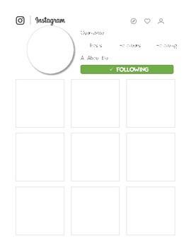 Back to School- Instagram Bulletin Board Activities