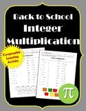 Back to School Integer Multiplication