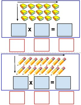 Back to School Interactive Multiplication Cards